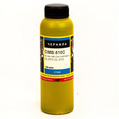 Фото - Чернила InkTec CIM-810C голубые водорастворимые для картриджей Canon PIXMA: CL-511, CL-513, CL-441, CL-446 и XL 100мл картридж canon cl 446 8285b001
