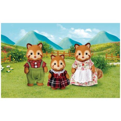 Детский игровой набор Семья Красных Панд