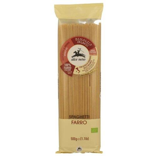 Фото - Alce Nero Макароны Spaghetti из полбы, 500 г макаронные изделия alce nero фузиллони био 500 г