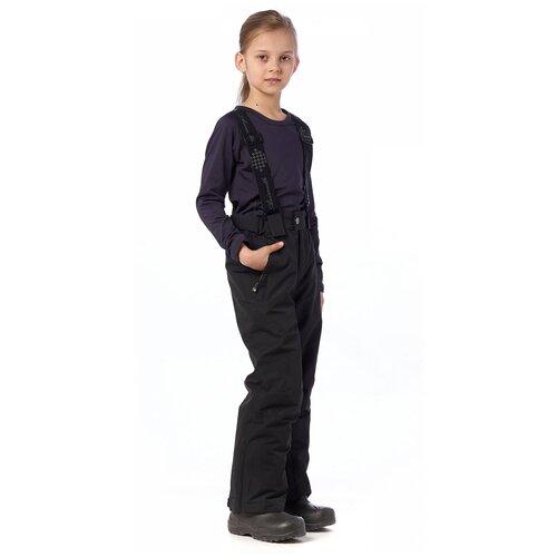Горнолыжные брюки подростковые AZIMUTH 291 ПД (Серый/140)