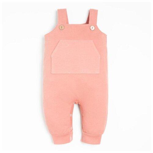 Купить Комбинезон Крошка Я, размер 86-92, розовый, Комбинезоны