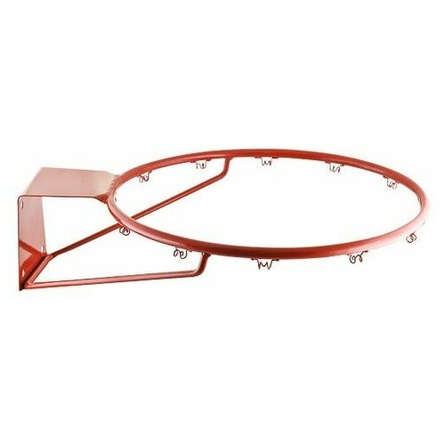 Кольцо баскет.№ 7,арт.MR-BRim7P, диам.450 мм, метал.ПРУТ 16мм,с кронштейном, крас.ТОЛЬКО КОР. ПО 4ШТ