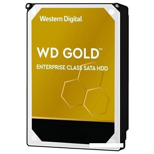 Внешний жесткий диск HDD WD Gold 8TB WD8004FRYZ