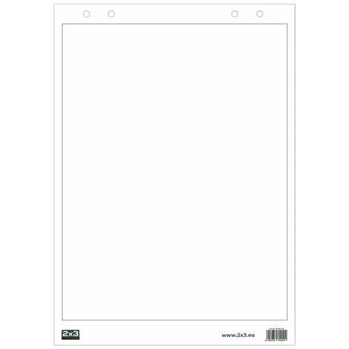 Бумага для флипчарта 2x3 B02 белый
