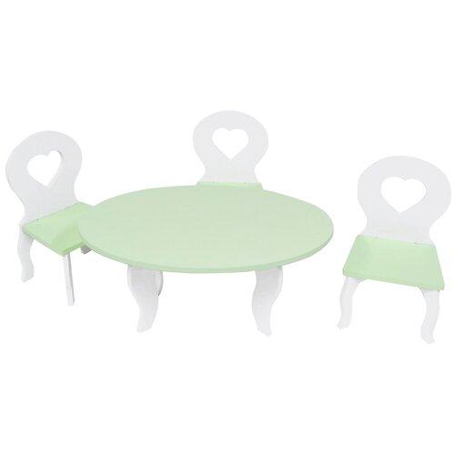 Фото - PAREMO Набор мебели для кукол Шик (PFD120) белый/салатовый paremo набор мебели для кукол цветок pfd120 45 pfd120 46 pfd120 44 pfd120 42 pfd120 43 белый фиолетовый