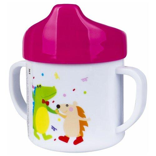Фото - Поильник-непроливайка Canpol Babies 4/108, 200 мл розовый поильник непроливайка canpol babies 56 512 320 мл бирюзовый