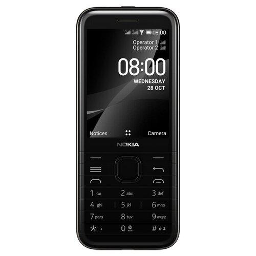 Телефон Nokia 8000 4G, черный