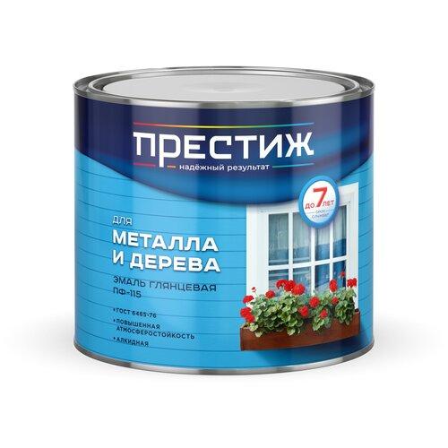 Фото - Эмаль алкидная (А) ПРЕСТИЖ ПФ-115 глянцевая кремовый 1.9 кг эмаль пф 115 алкидная престиж skladno голубая 10 кг