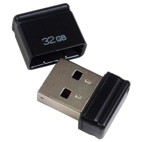 Фото - Флешка Qumo nanoDrive 32 GB, черный флешка qumo twist 32 gb фиолетовый