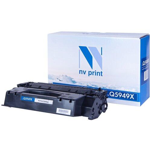 Фото - Картридж NV Print Q5949X для HP, совместимый картридж nv print cf237x для hp совместимый