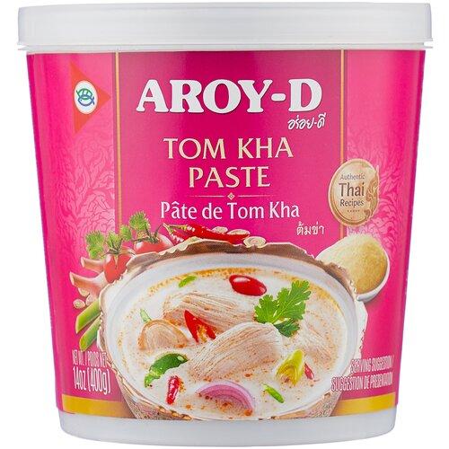 Aroy-D Паста Tом Кха, 400 г паста чили с соевым маслом aroy d 260 г