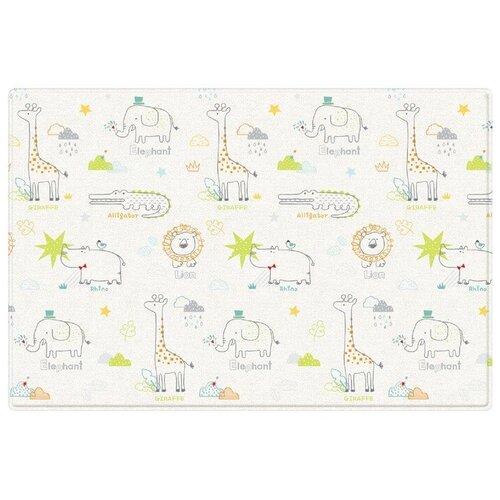 Коврик Parklon Pure Soft Арт-деко/Зоопарк 190x130x1,2 см (PS-932-ADMZ)