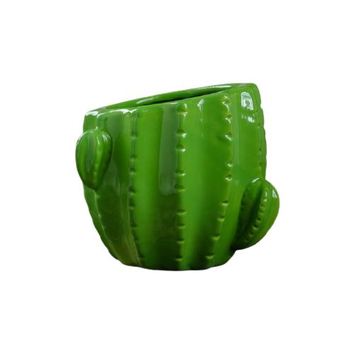 Кашпо Take It Easy Кактус 12 x 12 x 12 см зеленый по цене 645
