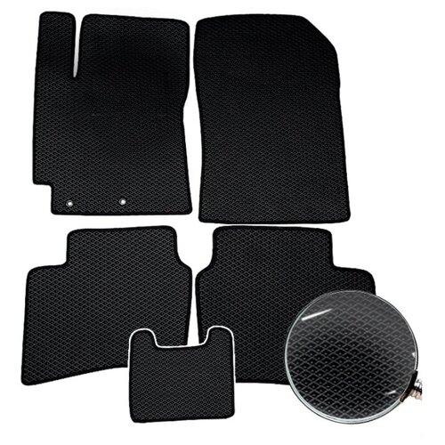 Автомобильные коврики AUTOFRANT EVA (ЕВА) для Мазда СХ 5 / Mazda CX-5 2011-2017, черные