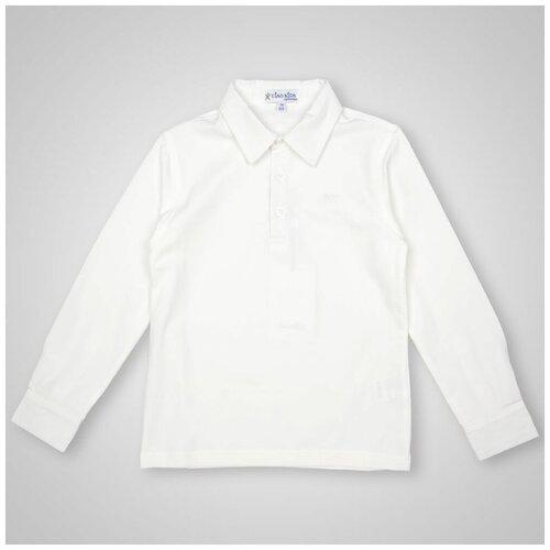 Рубашка Ciao Kids Collection размер 9 лет (134), белый
