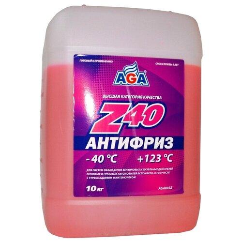 Антифриз AGA Z40 10 кг