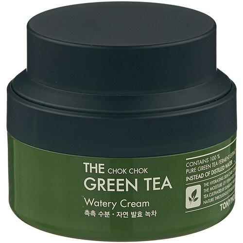 TONY MOLY The Chok Chok Green Tea Watery Cream Увлажняющий крем для лица, 60 мл tony moly the chok chok green