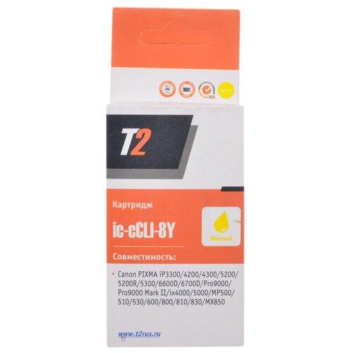 Фото - Картридж T2 IC-CCLI-8Y, совместимый картридж t2 ic hf6v19a совместимый