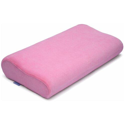 Подушка Nuovita ортопедическая Neonutti Junior Memoria 30 х 50 см розовый