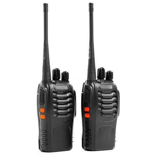 Рация BF-888S BAOFENG (2 шт.) / рация с антенной / рация с аккумулятором / рации москва / портативные радиостанции / рация баофенг