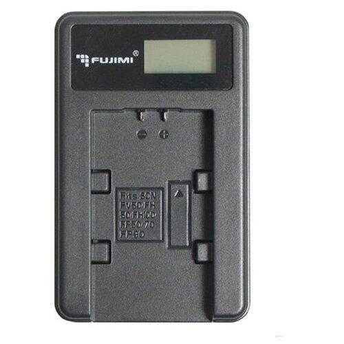 Фото - Зарядное устройство Fujimi c USB адаптером для LP-E17 fujimi lp e17 зу аккумулятор для фото и видео камер в комплекте с зу