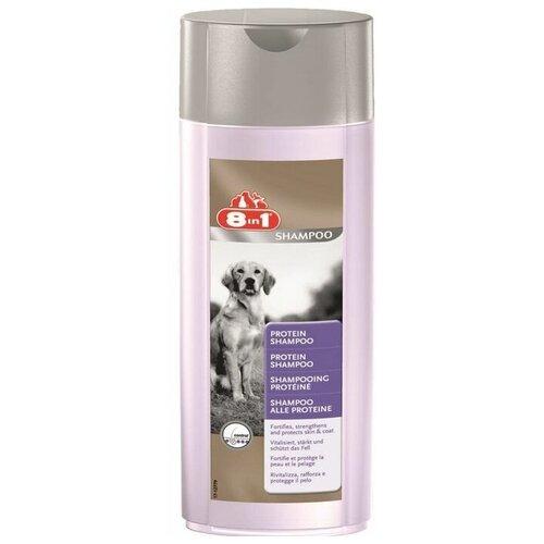 Шампунь 8 In 1 Protein Shampoo протеиновый для собак 250 мл