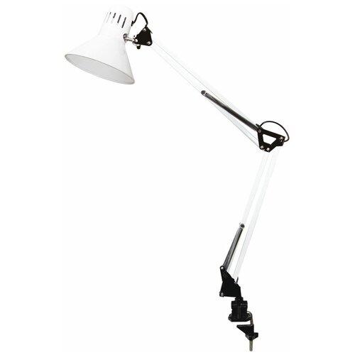 Лампа офисная TDM ЕLECTRIC SQ0337-0027, E27, 40 Вт, цвет арматуры: белый, цвет плафона/абажура: белый