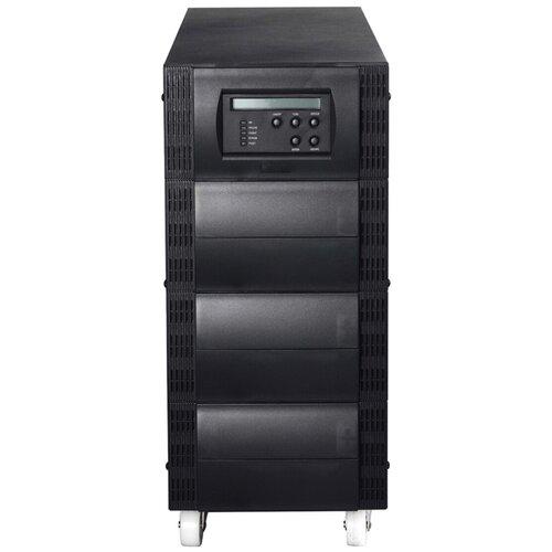 ИБП с двойным преобразованием Powercom VANGUARD VGS-10K черный