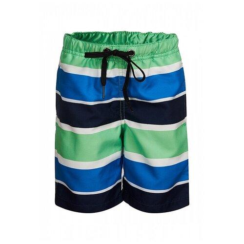 Фото - Шорты для плавания Oldos размер 110, синий/зеленый шорты для плавания oldos размер 98 желтый синий
