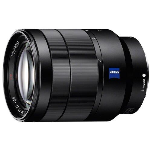 Фото - Объектив Sony Carl Zeiss Vario-Tessar T* 24-70mm f/4 ZA OSS (SEL-2470Z) объектив sony 55 210 mm f 4 5 6 3 e sel 55210 серебристый