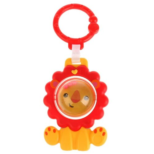 Фото - Подвесная игрушка Умка Лев (KK2680-20-R) красный/желтый игрушка для ванной умка бегемотик b1410463 r красный желтый зеленый