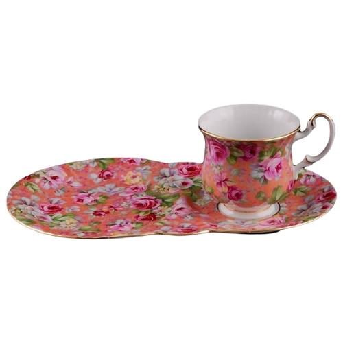Сервиз чайный для завтрака Моника Яркие цветы, 2 пр., Leander
