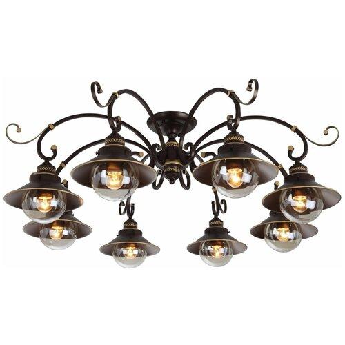 Люстра Arte Lamp Grazioso A4577PL-8CK, E27, 480 Вт потолочная люстра arte lamp a4577pl 8ck