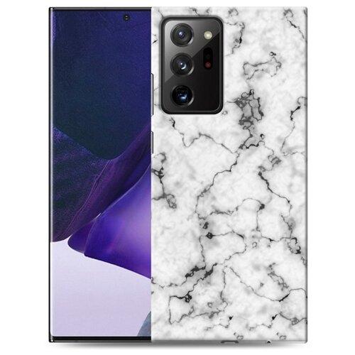 Дизайнерский пластиковый чехол для Samsung Galaxy Note 20 Ultra Мраморные тренды