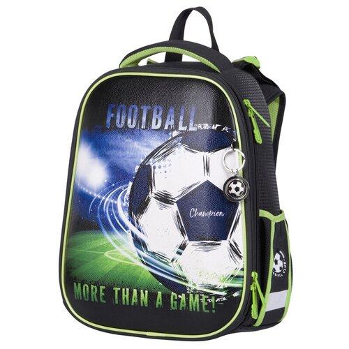 Купить Berlingo ранец Expert Football, черный/зеленый, Рюкзаки, ранцы