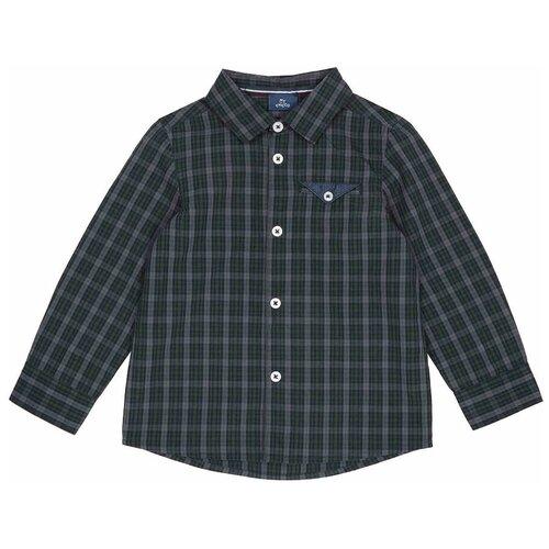 Рубашка Chicco размер 110, темно-зеленый