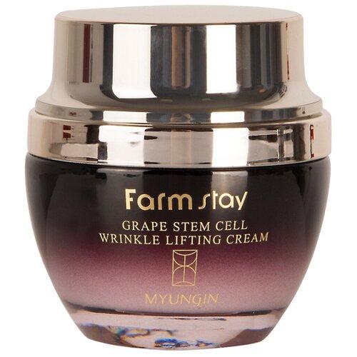 Farmstay Grape Stem Cell Wrinkle Lifting Cream Лифтинг крем для лица против морщин, 50 мл  - Купить