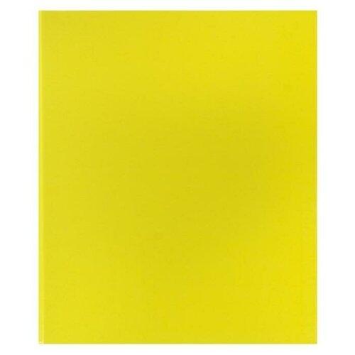 Фото - Папка-регистратор на 4 кольцах, А4, 35 мм, Erich Krause Neon, жёлтая, картон 1.75 мм, вместимость 250 листов erichkrause папка–регистратор на 2 кольцах neon а4 35 мм розовый