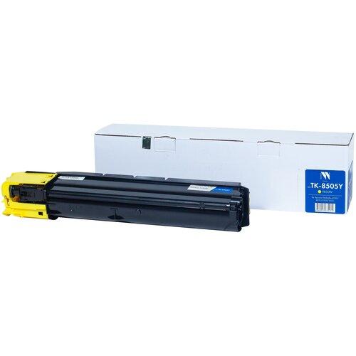 Фото - Картридж NV Print TK-8505 Yellow для Kyocera, совместимый картридж nv print tk 895 yellow для kyocera совместимый
