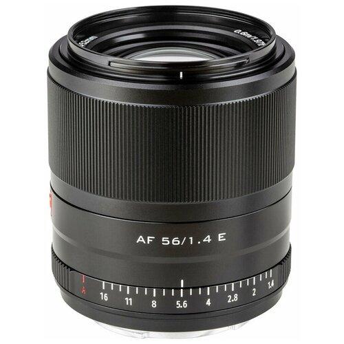 Фото - Объектив Viltrox AF 56mm f/1.4 Sony E черный объектив viltrox af 23mm f 1 4 ef m серебристый