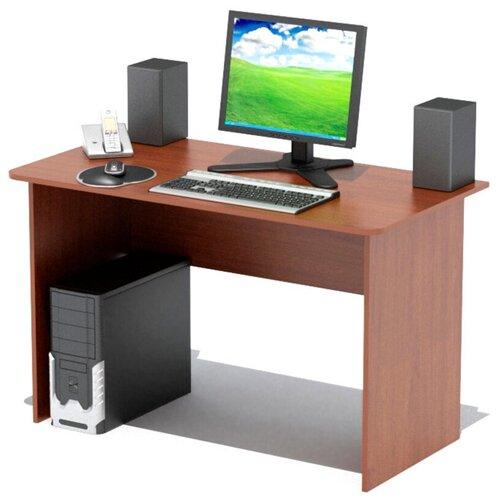 Стол компьютерный Шарм-Дизайн СП-1200 вишня