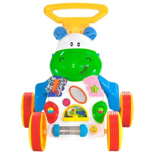 Каталка-ходунки everflo Happy Hippo (HS0287737) многоцветный everflo каталка everflo машинка smart car m001 pink