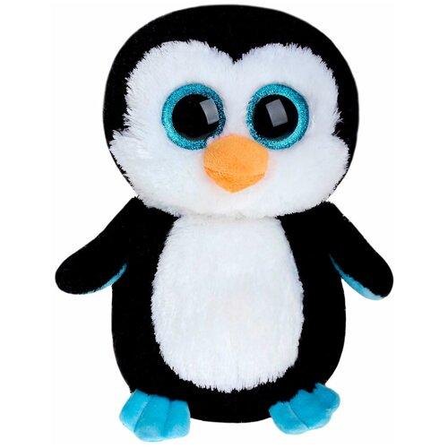 Мягкая игрушка TY Beanie boos Пингвин Waddles 23 см