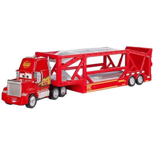 Автовоз Mattel Cars Мак тягач (FPX96), красный mattel машинка cars пол лошсил меняет цвет