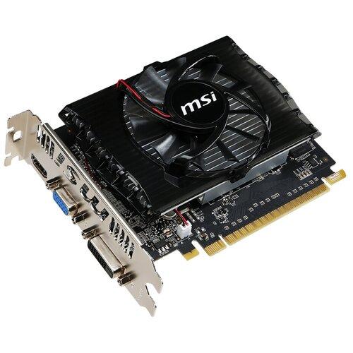 Видеокарта MSI GeForce GT 730 2 GB (N730-2GD3V2), Retail