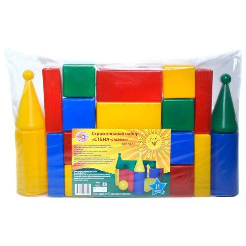 Фото - Кубики Строим вместе счастливое детство Стена-смайл 5181 кубики строим вместе счастливое детство набор 2 5253