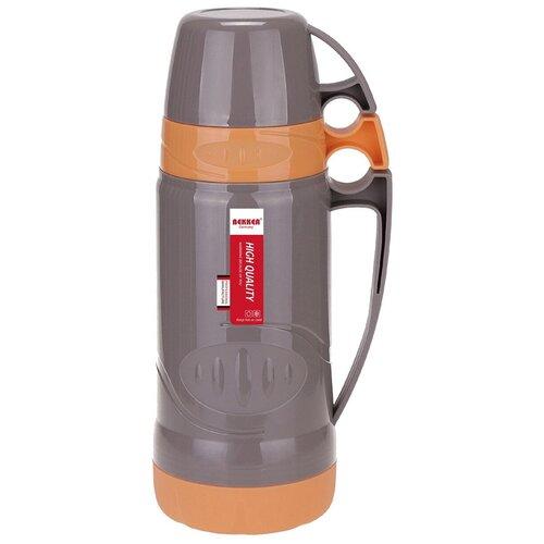 Классический термос Bekker BK-4396, 1 л серый