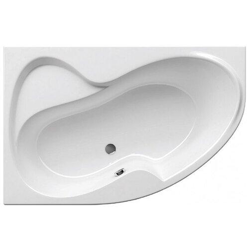 Ванна RAVAK Rosa II 170x105 без гидромассажа акрил угловая левосторонняя ванна ravak asymmetric 150x100 без гидромассажа акрил угловая левосторонняя
