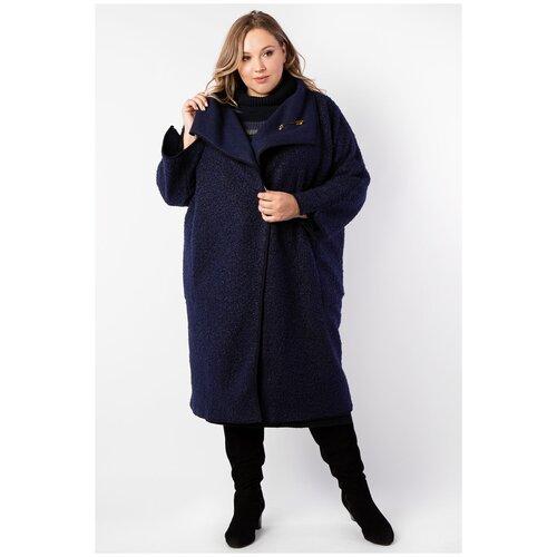 Пальто ARTESSA PL30023DBL05 темно-синий размер 48-50
