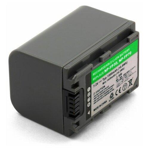 Фото - Усиленный аккумулятор для видеокамеры Sony NP-FP70, NP-FP71 усиленный аккумулятор для видеокамеры sony np fp90 np fp91